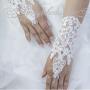 bruidshandschoen kant