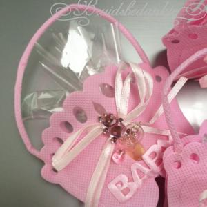 baby bedankje roze